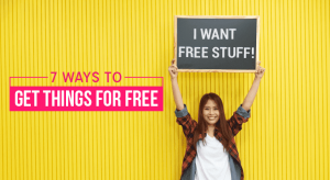 Best ways to get free stuff 7