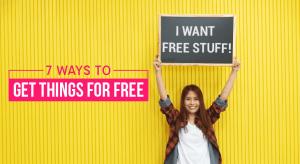 Best ways to get free stuff 7