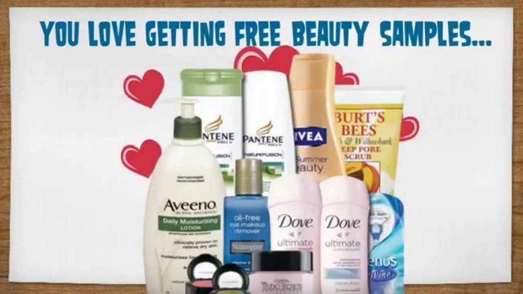 Free stuff beauty products