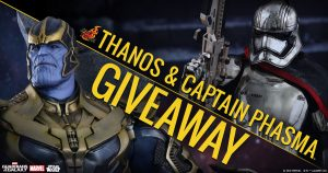 Thanos & Captain Phasma Giveaway