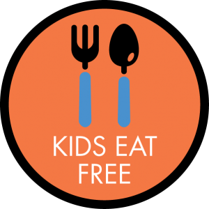 best quality free stuff front page banner Kids eat free