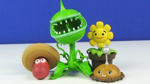 free plants vs zombies toys 4