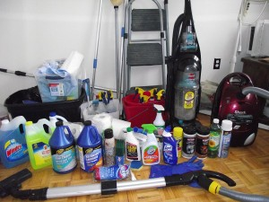free cleaning supply samples