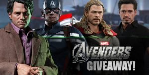 Captain America Toys Giveaway 2