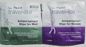 Free Antiperspirant Wipe