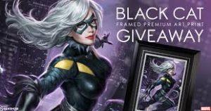 Black Cat Figure Giveaway