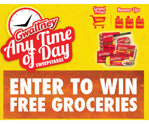Win free groceries 3