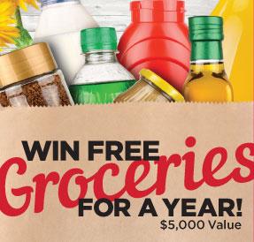 Win free groceries