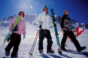 free skiing gear