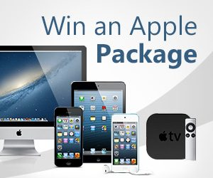 Apple product giveaways