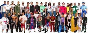 free action figures 3