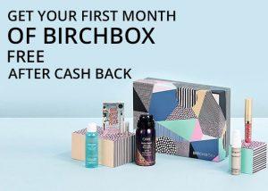 Free Beauty Box after cashback 2