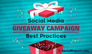 Social Media Promotional Giveaway Ideas 9
